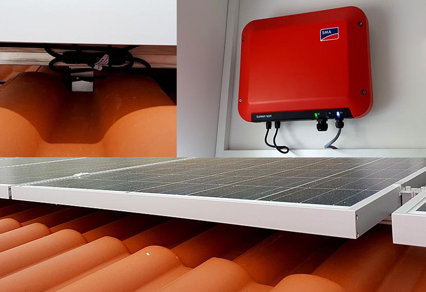 ENTEGA Solaranlage