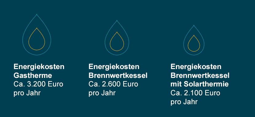 Gaszentralheizung Kosten