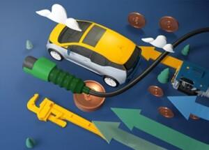 Betriebskosten: Elektroautos im Vergleich.