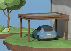 Elektroauto: sauber unterwegs.
