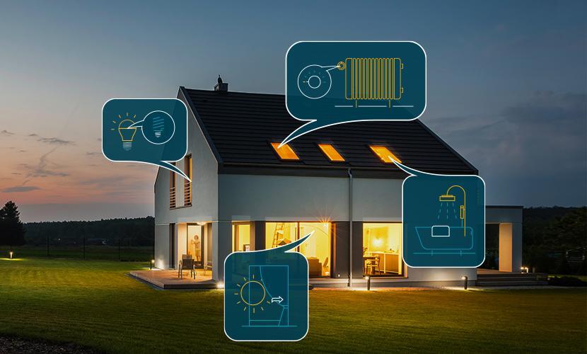 Energiesparen zu Hause