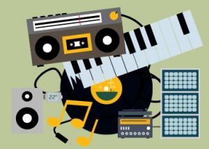 Energiegeladene Songs für  ein nachhaltigeres Leben
