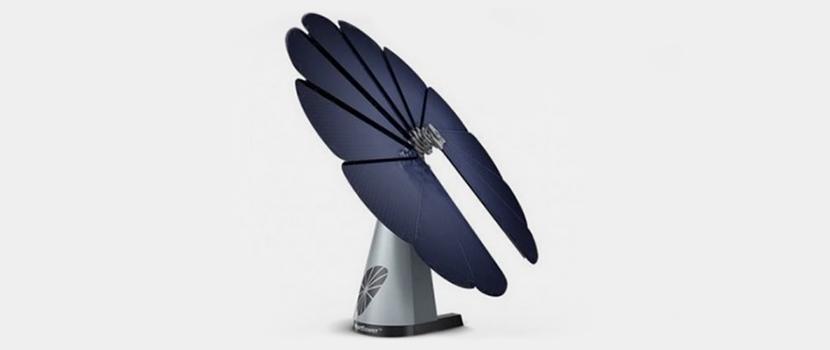 Energieversorgung der Zukunft Smartflower