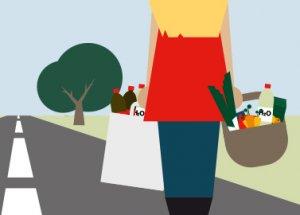 "Fashionblogger meets Nachhaltigkeit. Teil 3: Projekt ""Ohne Auto leben""."