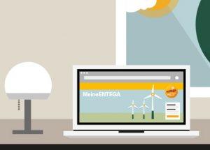 MeineENTEGA: das neue Online-Portal im Praxis-Check.