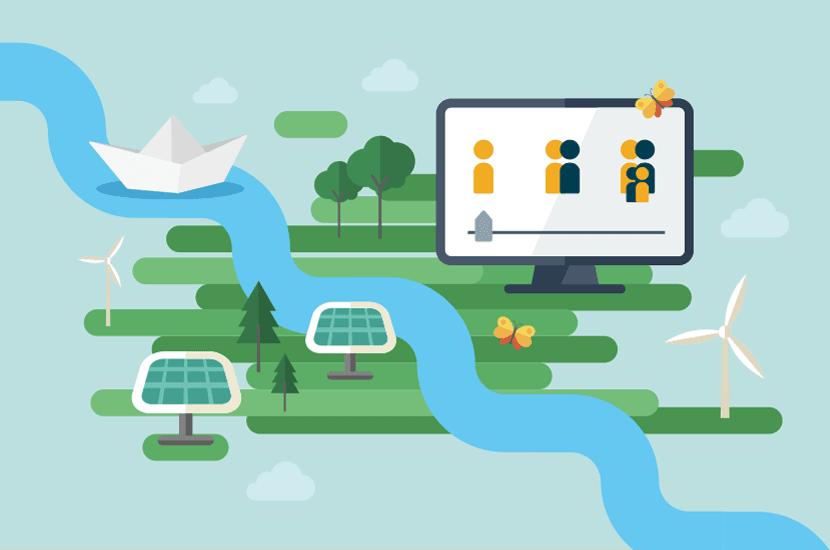 Klimaschutz Strom sauber