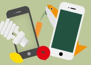 Smartphone-Apps für mehr Nachhaltigkeit.