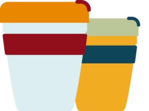 Nachhaltige Geschenke zu Weihnachten: Kaffeebecher