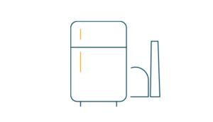 Nachhaltiger Konsum Kühlschrank