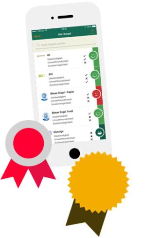 Smartphone App Siegel