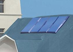 Solarthermie: Volle Energie – ob Sonne oder Regen.