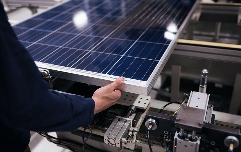 Solarzelle Leistung