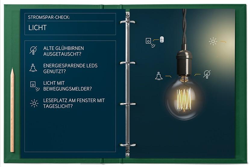 Stromspar-Check Licht