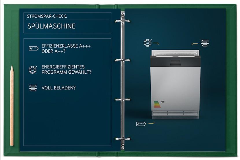 Stromspar Check Spülmaschine
