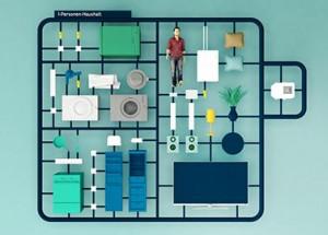 Stromverbrauch im 1-Personenhaushalt (60 qm): Tipps und Tricks für weniger Verbrauch und Kosten.