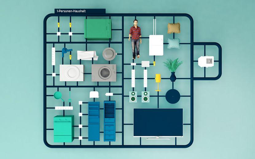 Stromverbrauch 1 Person Haushalt