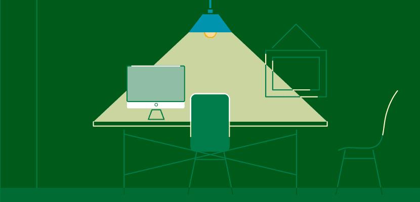 Stromverbrauch Licht Arbeitszimmer