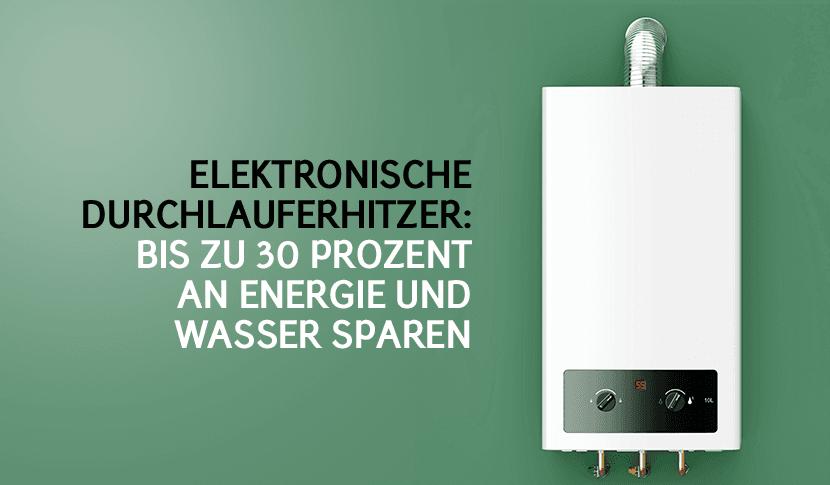 Stromverbrauch mit Durchlauferhitzer