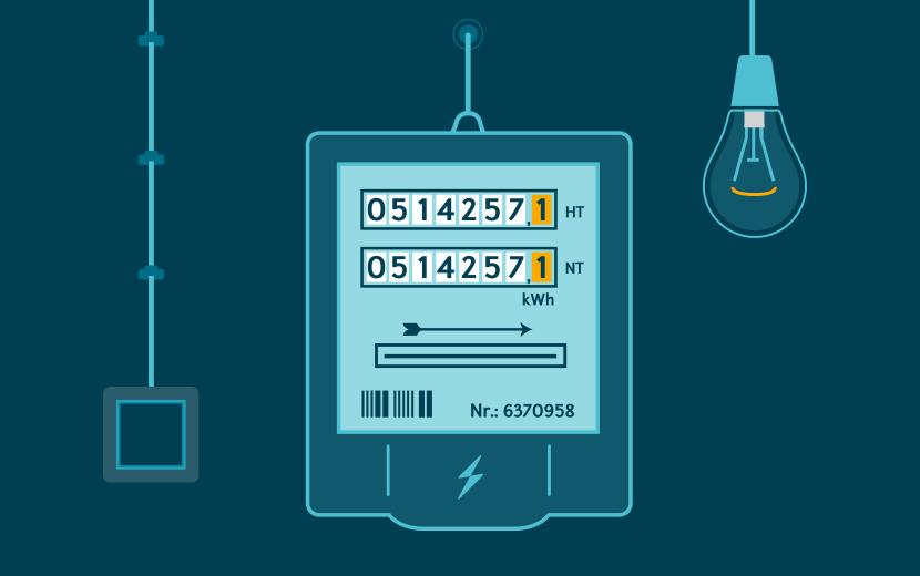 Häufig Stromzähler ablesen: Alles, was wichtig ist | ENTEGA EC15