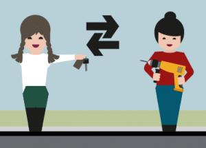 Tauschen statt kaufen: Der neue Trend bei Auto, Bett, Lebensmitteln oder Klamotten